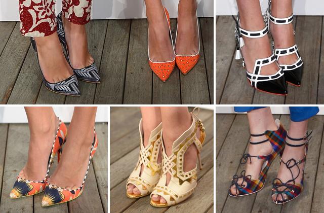 Coleção de sapatos J.Crew para Sophia Webster - disponíveis em 2014 (!)